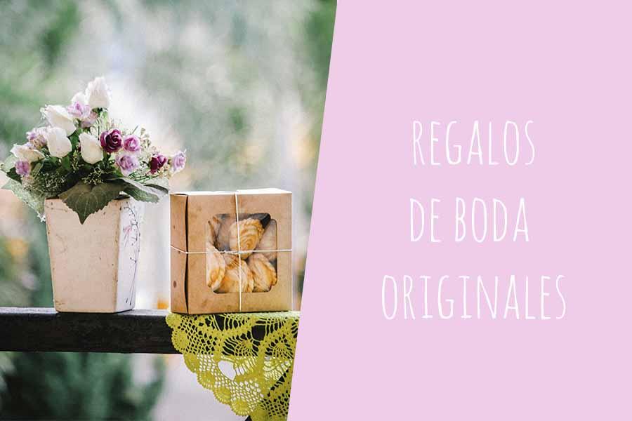 detalles y regalos de boda originales