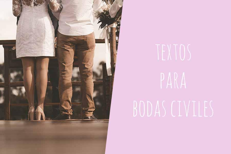 textos para bodas civiles