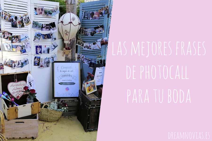 frases photocall bodas